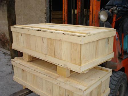 Cajas de madera base paletizada for Cajas de madera aki