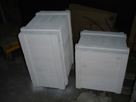 Cajas de madera para escaparatismo blancas for Cajas de madera blancas
