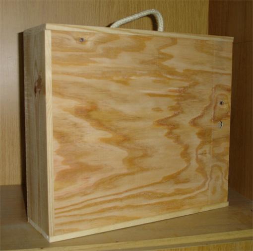 Cajas de madera para vino cava jamon for Cajas de madera aki