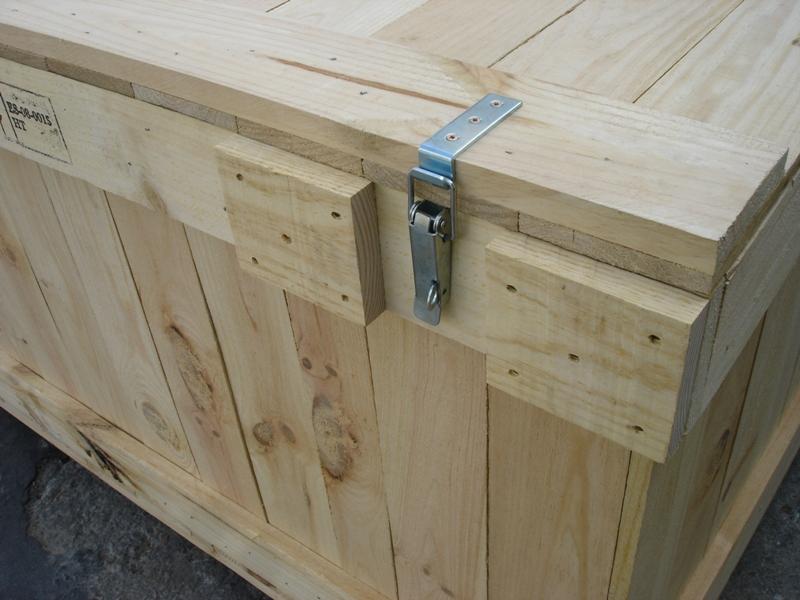 Embalajes de madera con bisagras cierres y ruedas - Tipos de bisagras para puertas ...