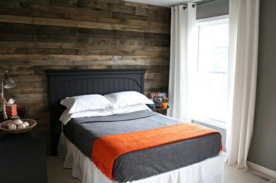 cabezal de cama con palets - Cabezal De Cama