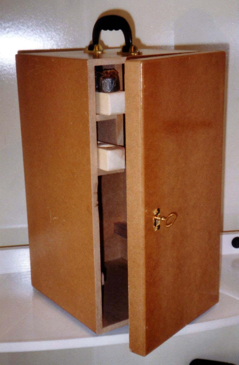 Caja de madera para microscopio fabricada en dm mdf - Cajas de madera para chuches ...