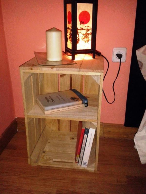 Embalajes de madera - Mesitas de noche recicladas ...