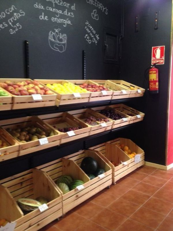 Embalajes de madera for Decoracion de fruterias