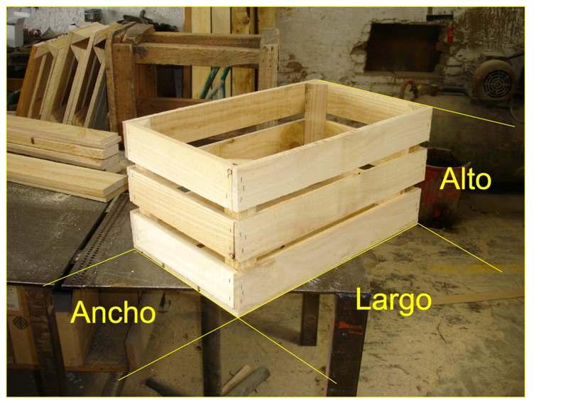 Embalajes de madera - Cajas de madera para frutas ...