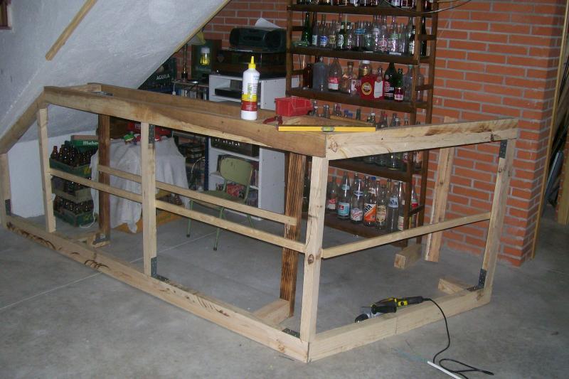 Embalajes de madera for Como forrar una barra de bar