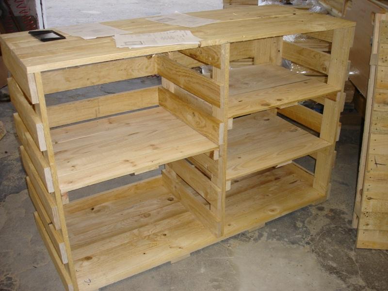 Embalajes de madera for Como hacer una piscina con palets
