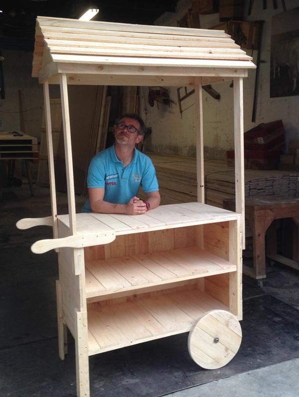 Embalajes de madera for Como fabricar un kiosco de madera