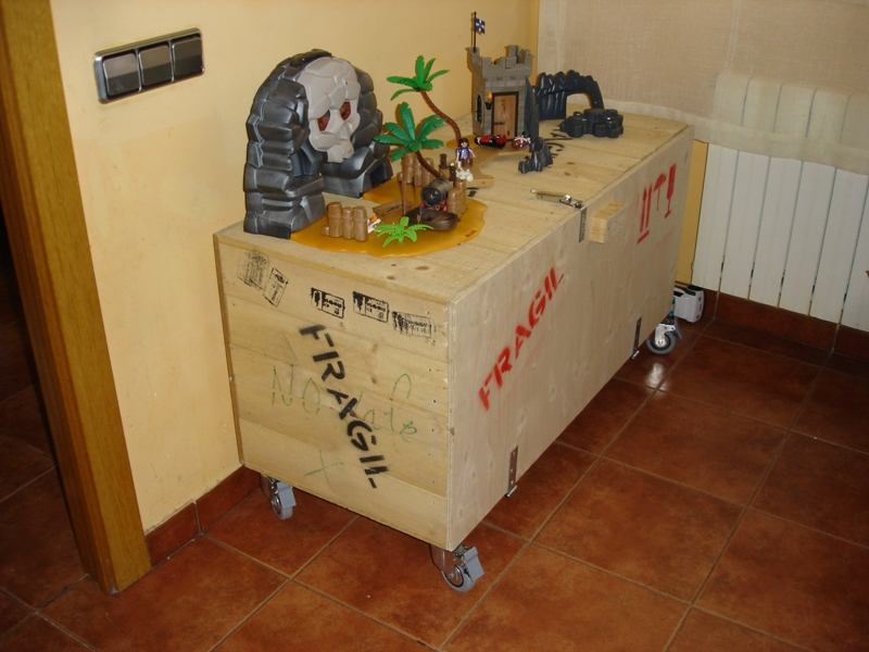 Embalajes de madera - Cajas de madera para guardar juguetes ...
